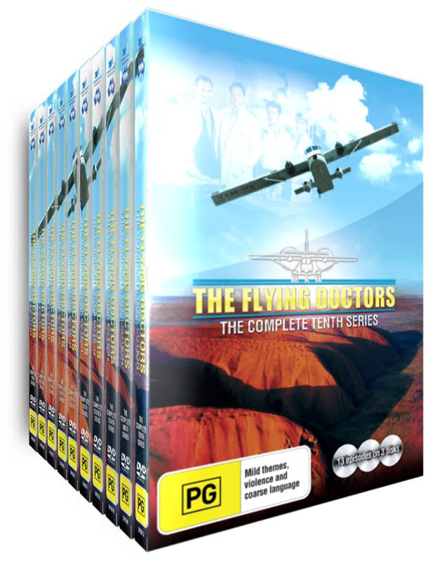 The Flying Doctors - Complete Series   - Includes Bonus - Flying Doctors Mini-series